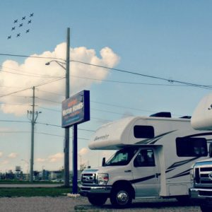rvs near london airport