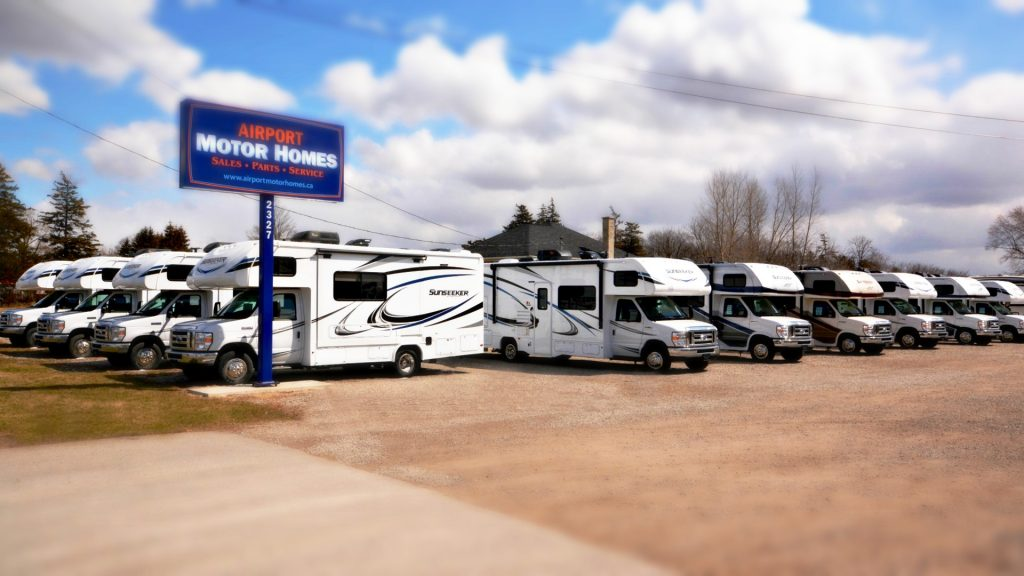 What comes with purchase of a new motorhome? A Complimentary Starter Package