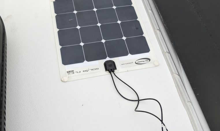 Sunseeker Roof Mounted Solar Panel